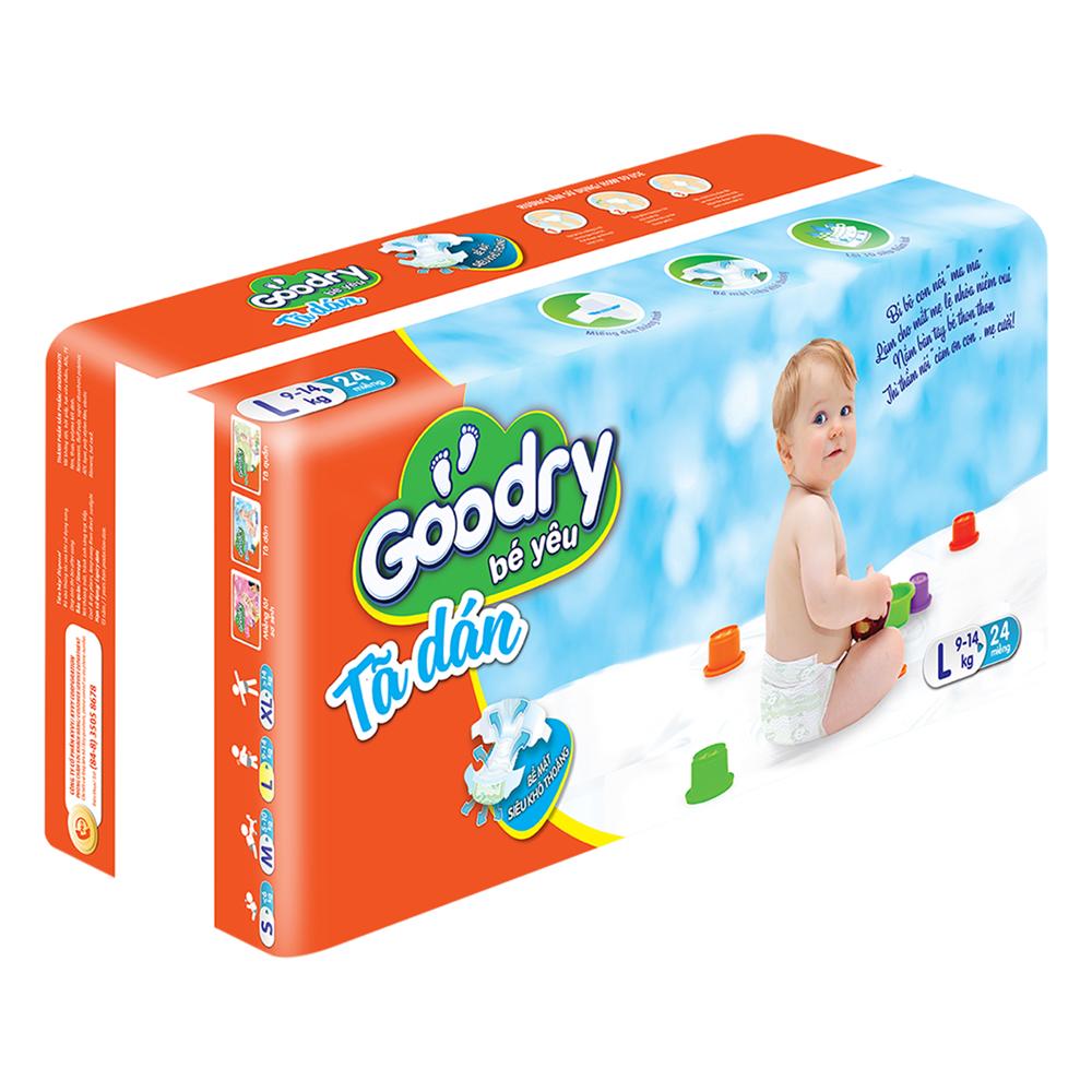 Tã Dán Goodry Size L24 (24 Miếng)