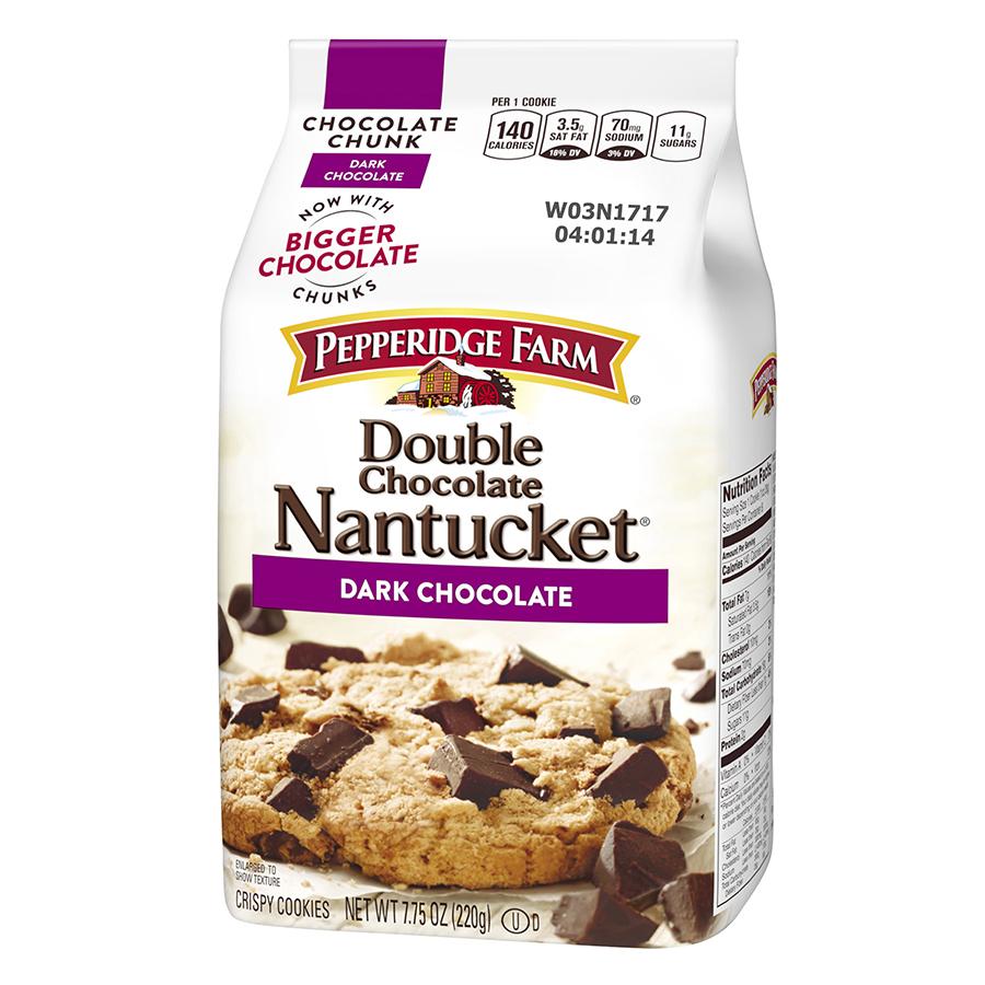 Bánh Vị Socola Đen Nguyên Chất Nantucket Pepperidge Farm (220g) - 9417359 , 14100078609 , 62_750526 , 92000 , Banh-Vi-Socola-Den-Nguyen-Chat-Nantucket-Pepperidge-Farm-220g-62_750526 , tiki.vn , Bánh Vị Socola Đen Nguyên Chất Nantucket Pepperidge Farm (220g)