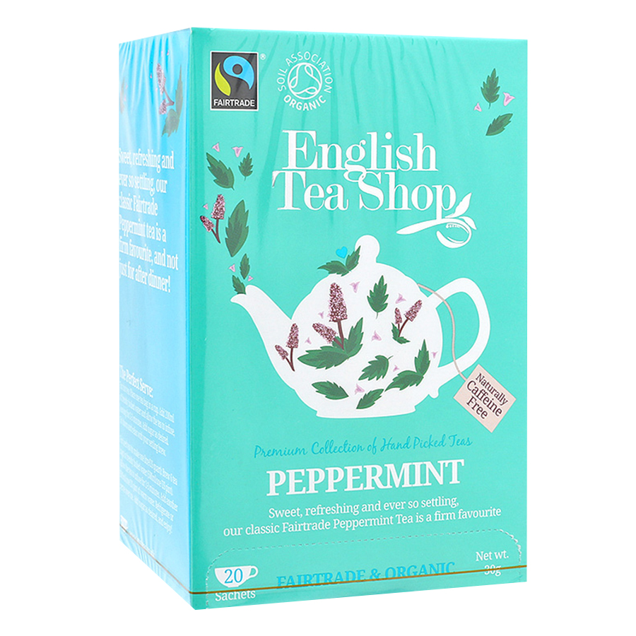 Trà Organic Peppermint English Tea Shop
