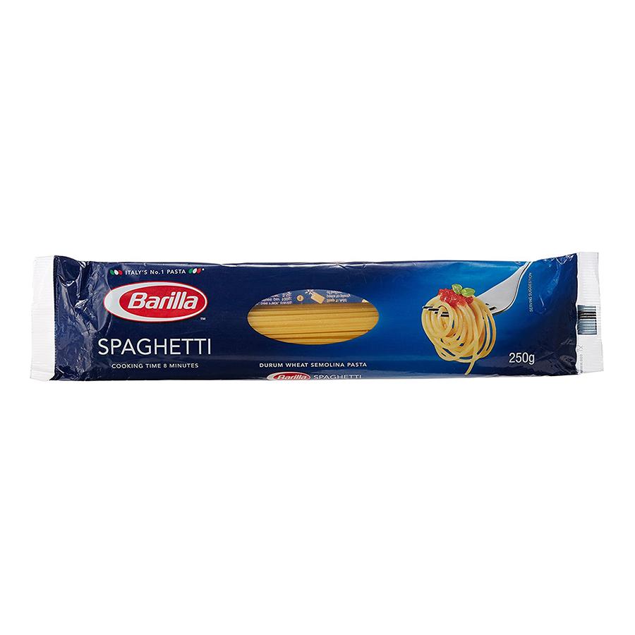 Mì Barilla Sợi Hình Ống Sợi Vừa Số 5 Spaghetti (250g)