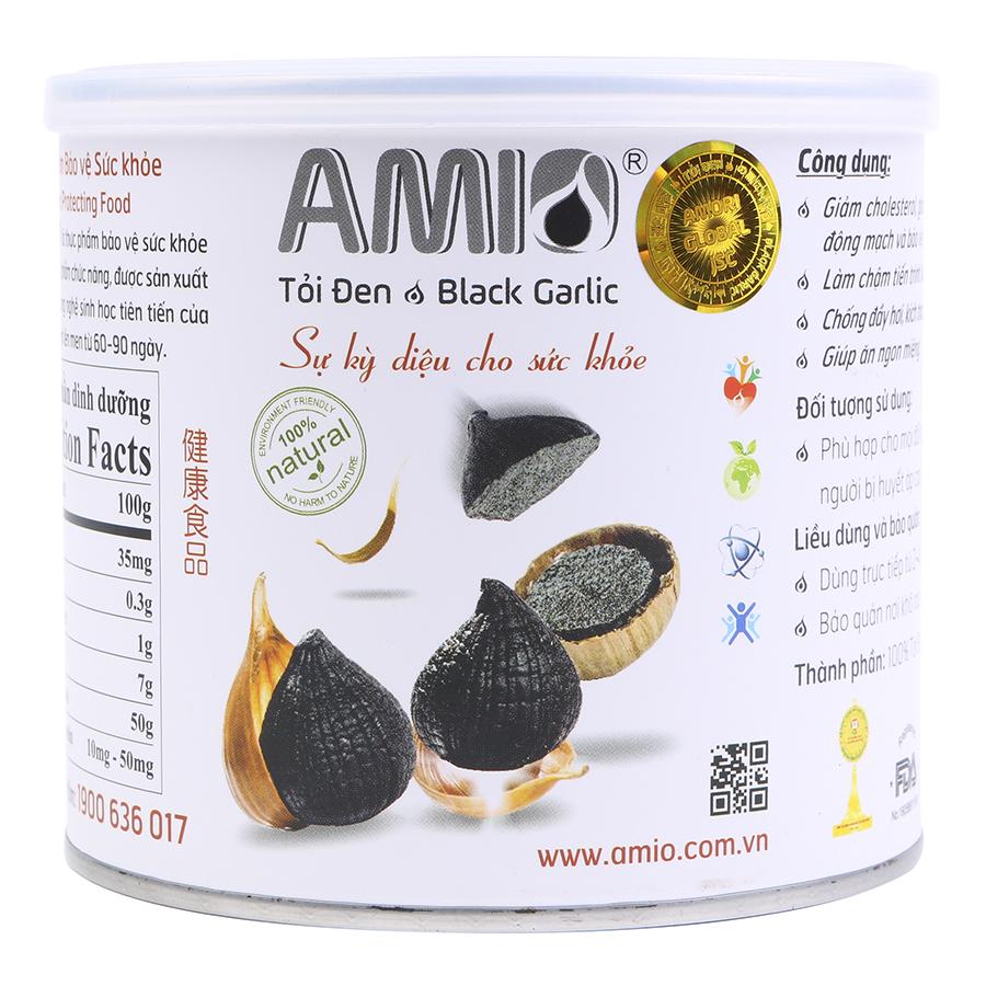 Tỏi Đen Amio Một Nhánh Lon Giấy AMC165 (165g)