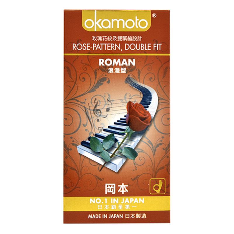 Bao Cao Su Okamoto Roman (Hộp 10 Gói) - 4547691705969,62_264434,187000,tiki.vn,Bao-Cao-Su-Okamoto-Roman-Hop-10-Goi-62_264434,Bao Cao Su Okamoto Roman (Hộp 10 Gói)