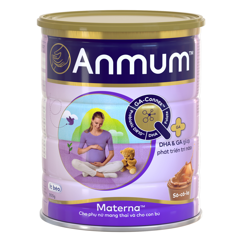 CRM - Sữa Bột Dành Cho Mẹ Bầu Anmum Materna Hương Chocolate (800g)