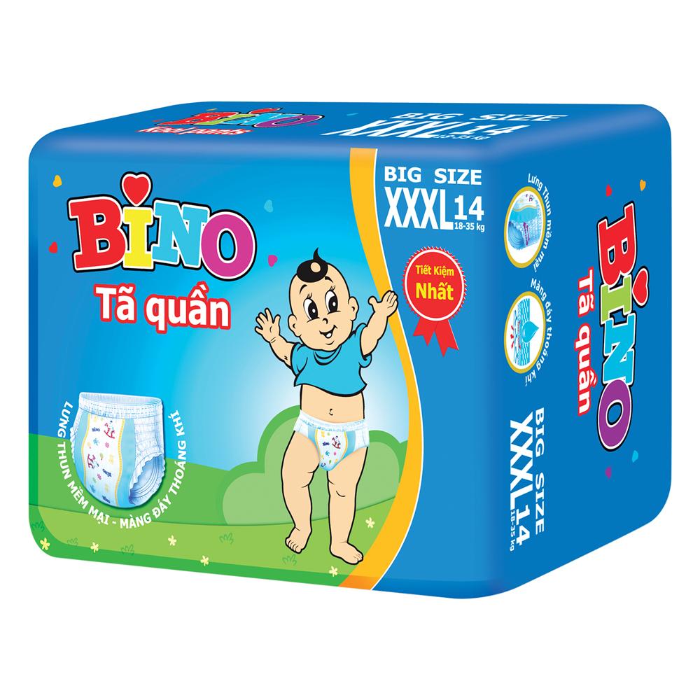 Tã Quần Bino Kool Pants Size XXX14 (14 Miếng)