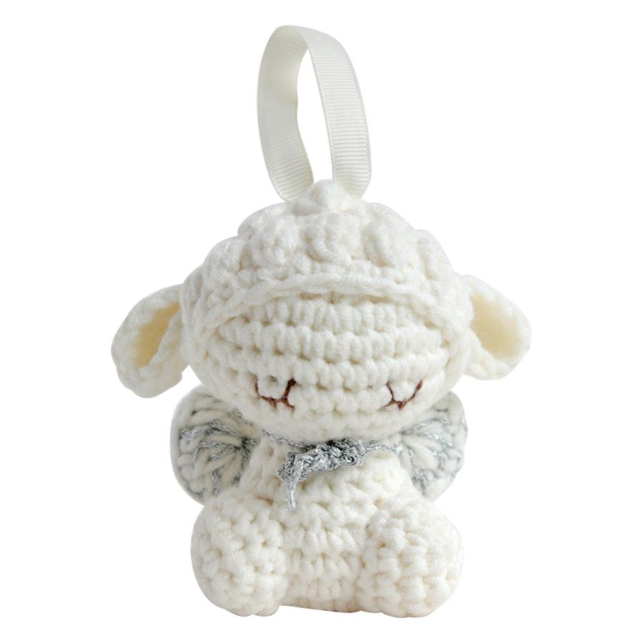 Thú Bông Cừu Milk Treo Noel Bobi Craft WT-137WHI-S