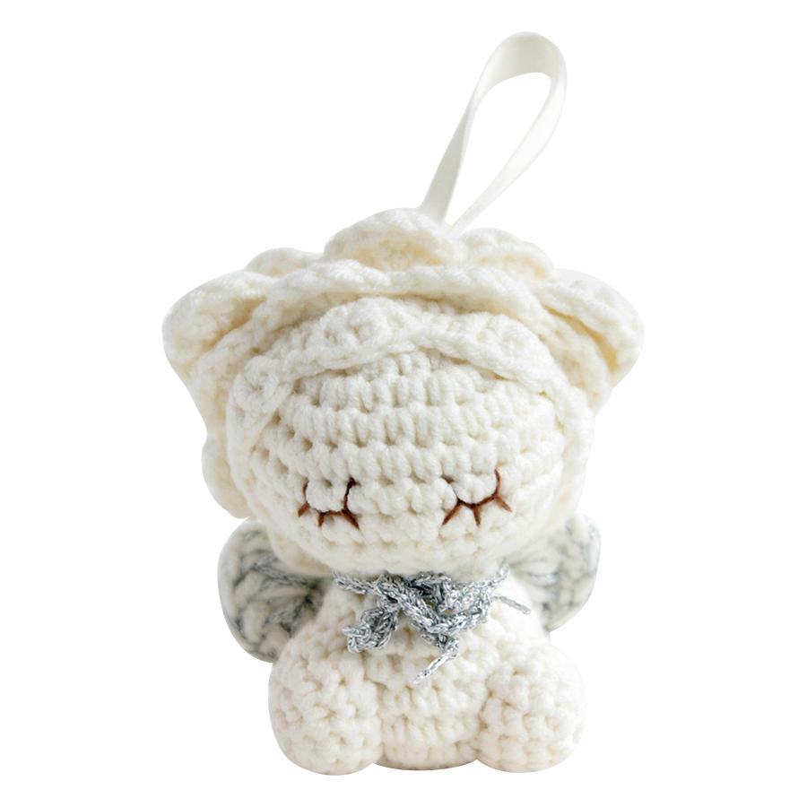 Thú Bông Sư Tử Milk Treo Noel Bobi Craft WT-136WHI-S
