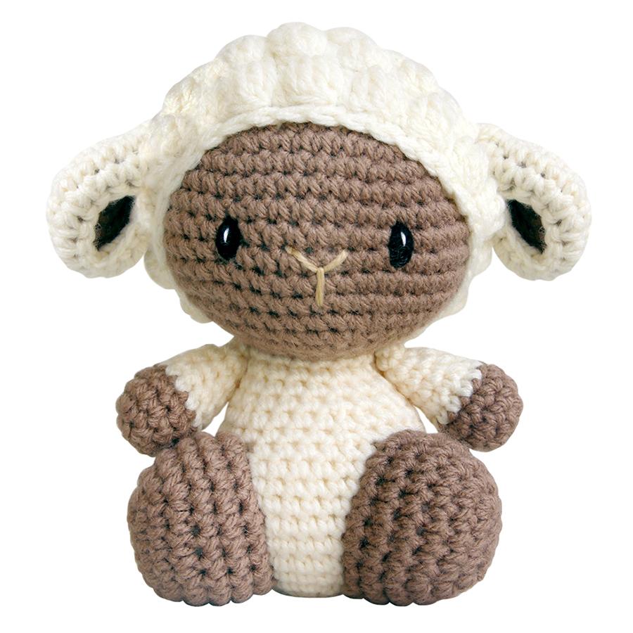 Thú Bông Cừu Đực Ngồi Bobi Craft WT-132CRE-M-M