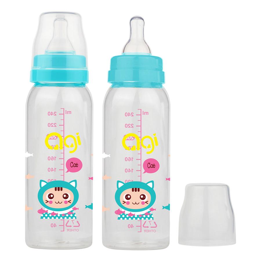 Bộ 2 Bình Sữa Agi Premium (250ml x 2) - Trắng - 5237826 , 5202113101154 , 62_630894 , 88000 , Bo-2-Binh-Sua-Agi-Premium-250ml-x-2-Trang-62_630894 , tiki.vn , Bộ 2 Bình Sữa Agi Premium (250ml x 2) - Trắng