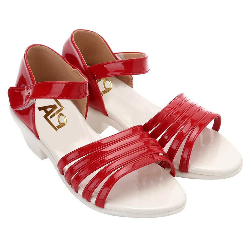 Sandal Bé Gái Quai Sọc AZ79 HQS504N-A2 – Đỏ