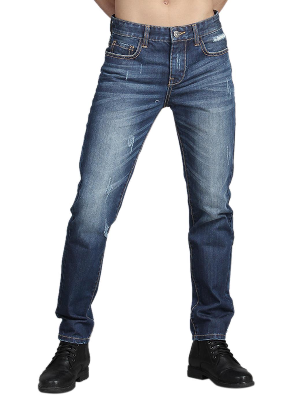 Quần Jeans Nam Ống Suông ALE JEANS 61074BS