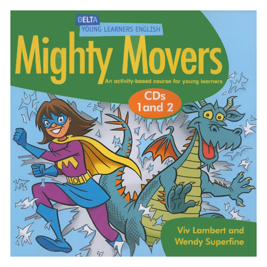 Mighty Movers (Asia Edition) - Audio CDs (2)