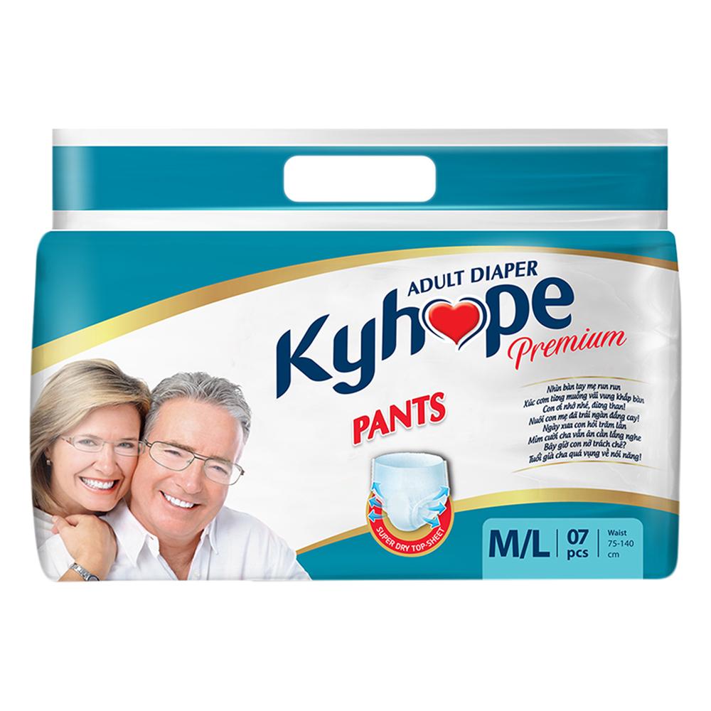 Tã Quần Người Lớn Kyhope Premium Size M/L (7 Miếng)
