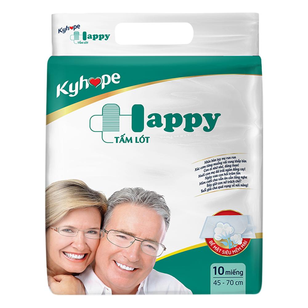 Tấm Lót Kyhope Happy Size M (10 Miếng)