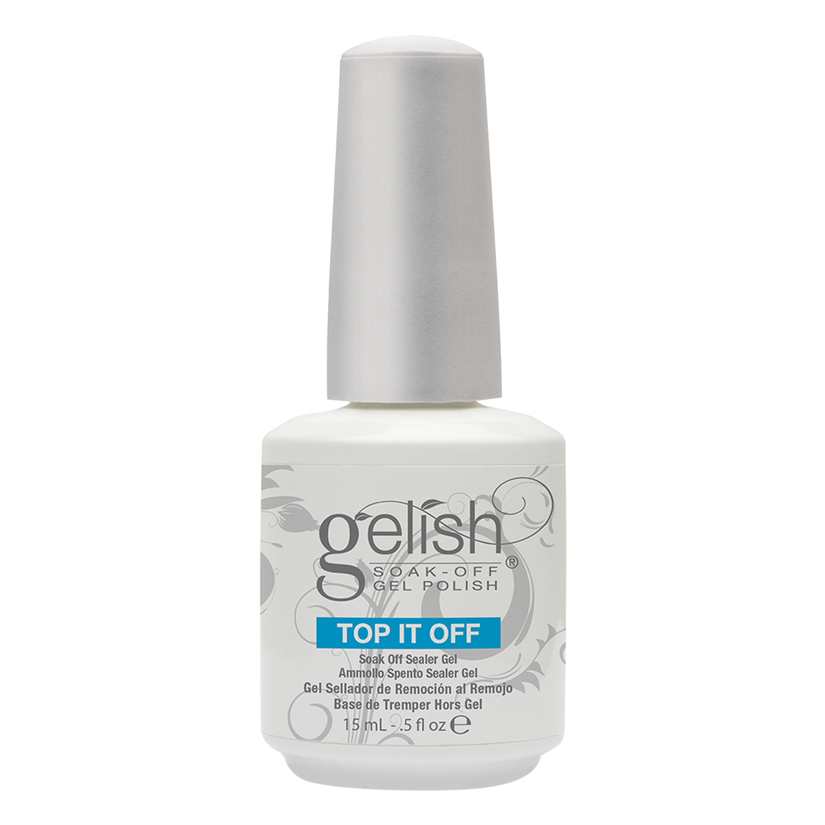 Sơn Móng Tay Gel Gelish Top-It-Off Soak Off Sealer Gel (15ml)