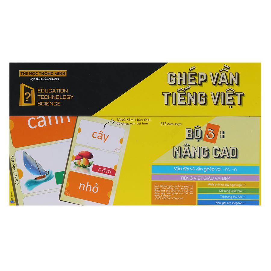 Thẻ Học Thông Minh Alphabooks Ghép Vần Tiếng Việt – Bộ 3: Nâng Cao (Tái Bản) - 1992097 , 2228308003655 , 62_918764 , 149000 , The-Hoc-Thong-Minh-Alphabooks-Ghep-Van-Tieng-Viet-Bo-3-Nang-Cao-Tai-Ban-62_918764 , tiki.vn , Thẻ Học Thông Minh Alphabooks Ghép Vần Tiếng Việt – Bộ 3: Nâng Cao (Tái Bản)