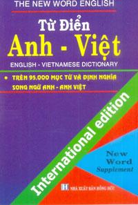 Từ Điển Anh Việt 95.000 Từ (Lớn)