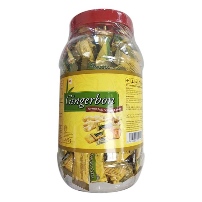Kẹo Gừng Chanh Mật Ong Gingerbon (620g) - 1978487 , 8991002301443 , 62_286901 , 74000 , Keo-Gung-Chanh-Mat-Ong-Gingerbon-620g-62_286901 , tiki.vn , Kẹo Gừng Chanh Mật Ong Gingerbon (620g)