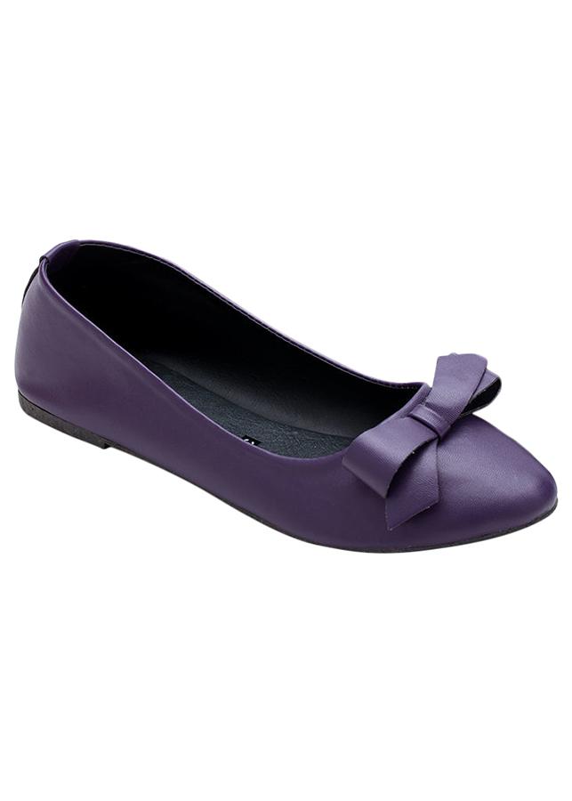 Giày Búp Bê Nơ Me Girl 92189 - Tím