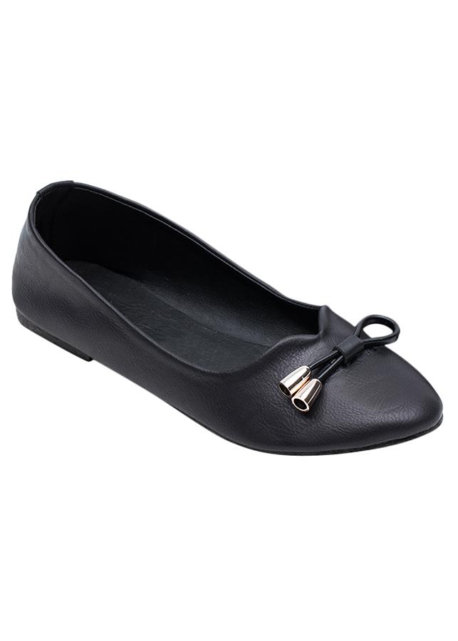 Giày Búp Bê Nơ Me Girl 92252 - Đen