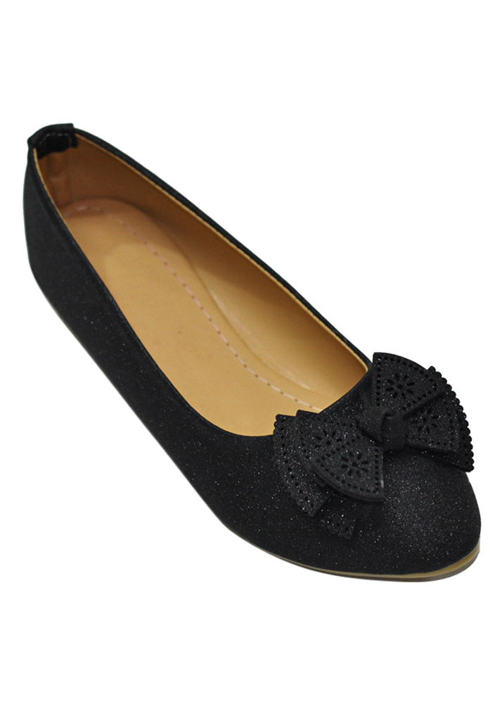 Giày Búp Bê Nơ Me Girl 92281 - Đen