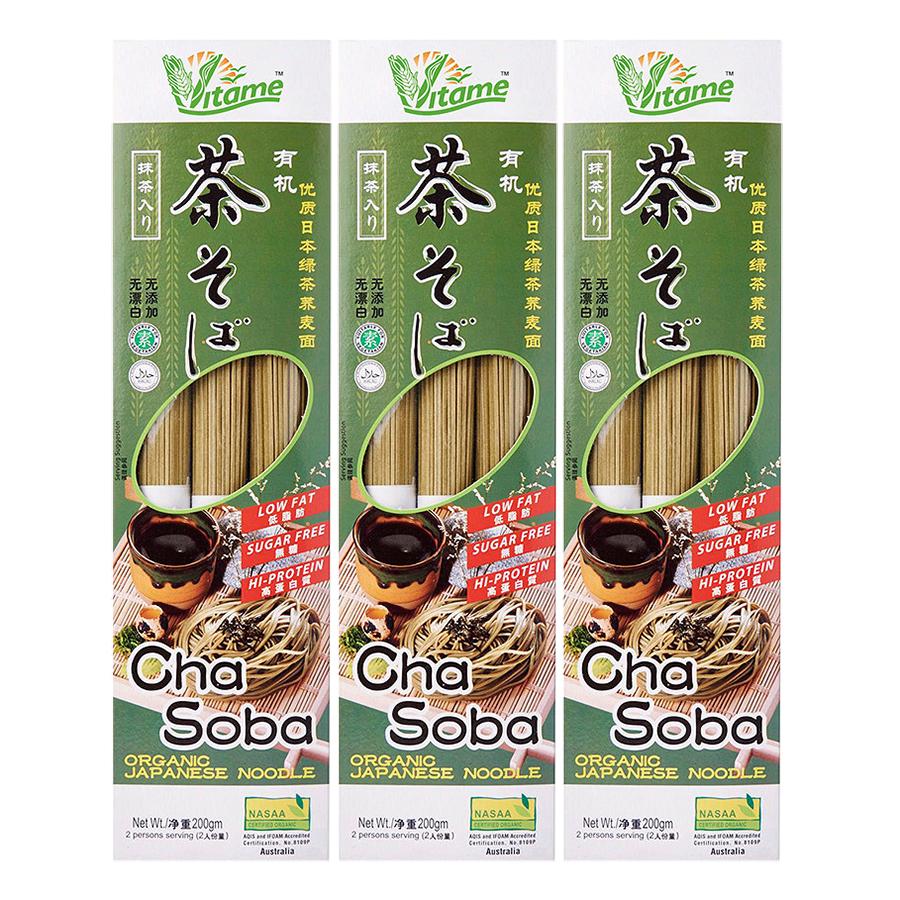 Combo 3 Mì Sợi Cha Soba Nhật Bản Hữu Cơ Everprosper Food (200g / Bịch) - 1997173 , 7320925915115 , 62_840121 , 228000 , Combo-3-Mi-Soi-Cha-Soba-Nhat-Ban-Huu-Co-Everprosper-Food-200g--Bich-62_840121 , tiki.vn , Combo 3 Mì Sợi Cha Soba Nhật Bản Hữu Cơ Everprosper Food (200g / Bịch)