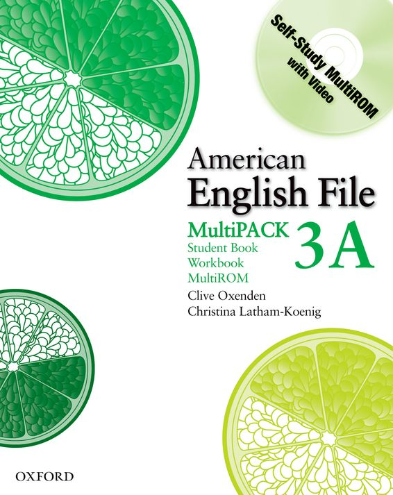 American English File Level 3 Student and Workbook Multipack A
