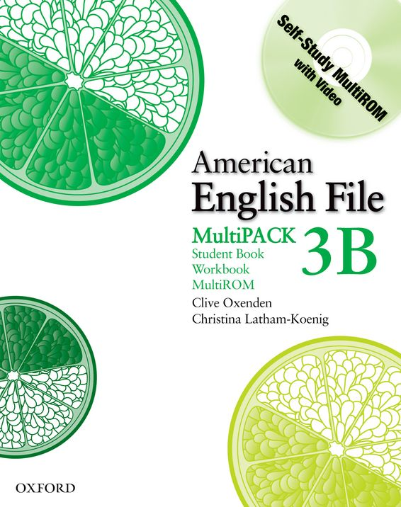 American English File Level 3 Student and Workbook Multipack B