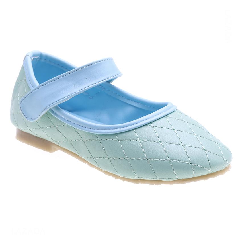 Giày Búp Bê Bé Gái AZ79 BB001022A6 - Xanh