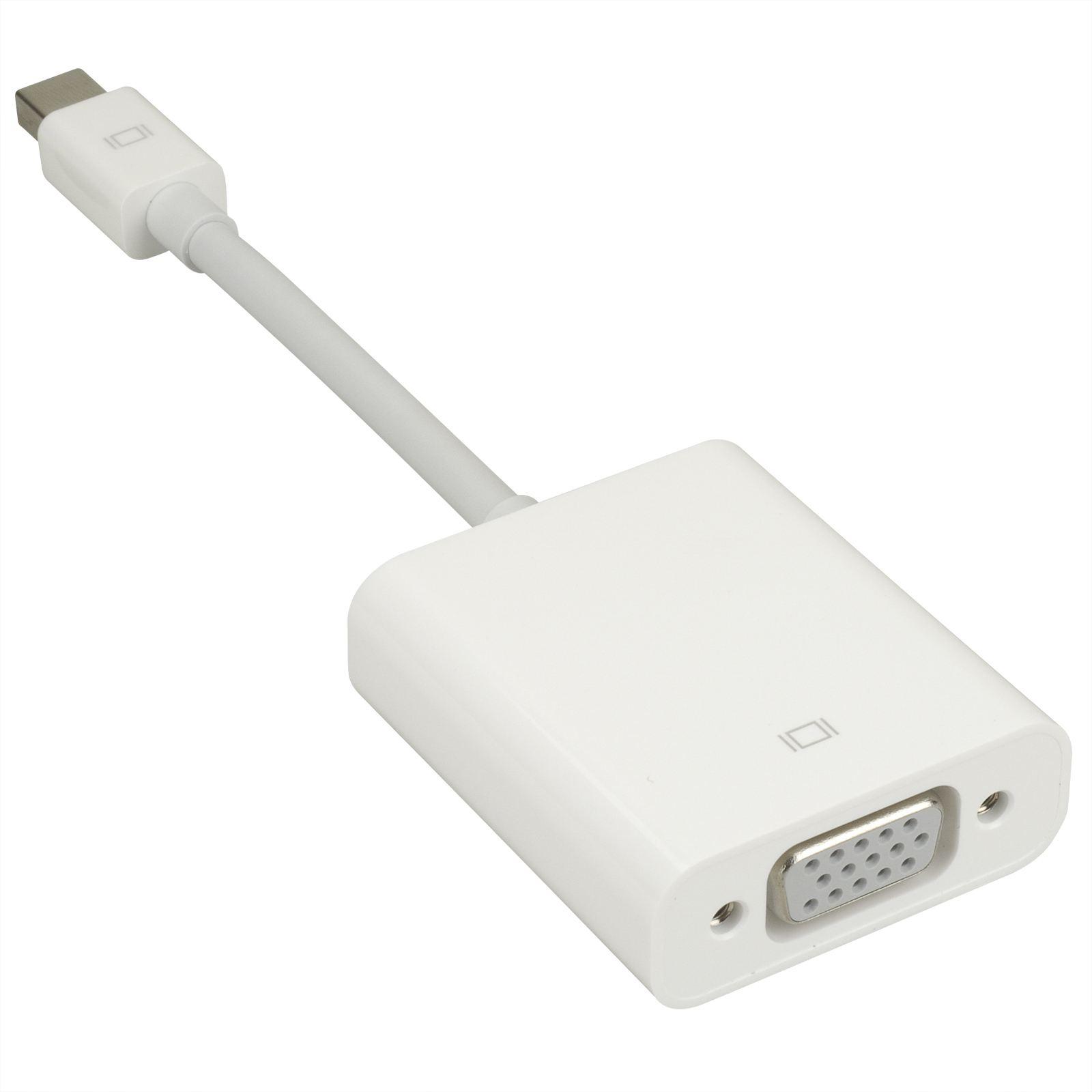 Cáp Chuyển Apple Mini Display Port To VGA MB572Z/B - Hàng Chính Hãng