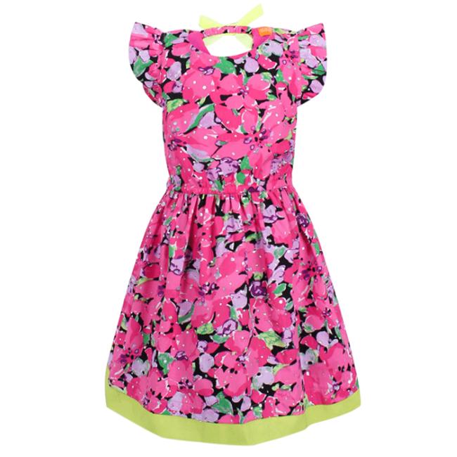 Đầm Xòe Họa Tiết Hoa Bé Gái VTA KIDS BG60302