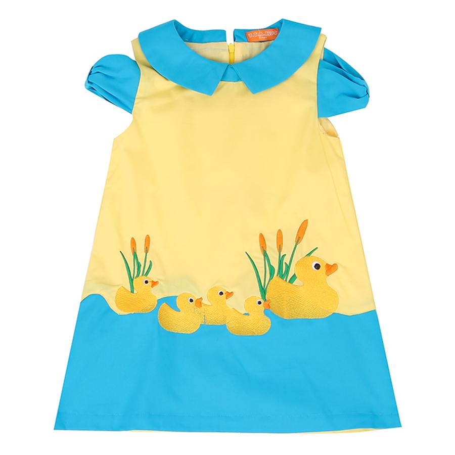 Đầm Trẻ Em Tay Ngắn VTA Kids BG70301
