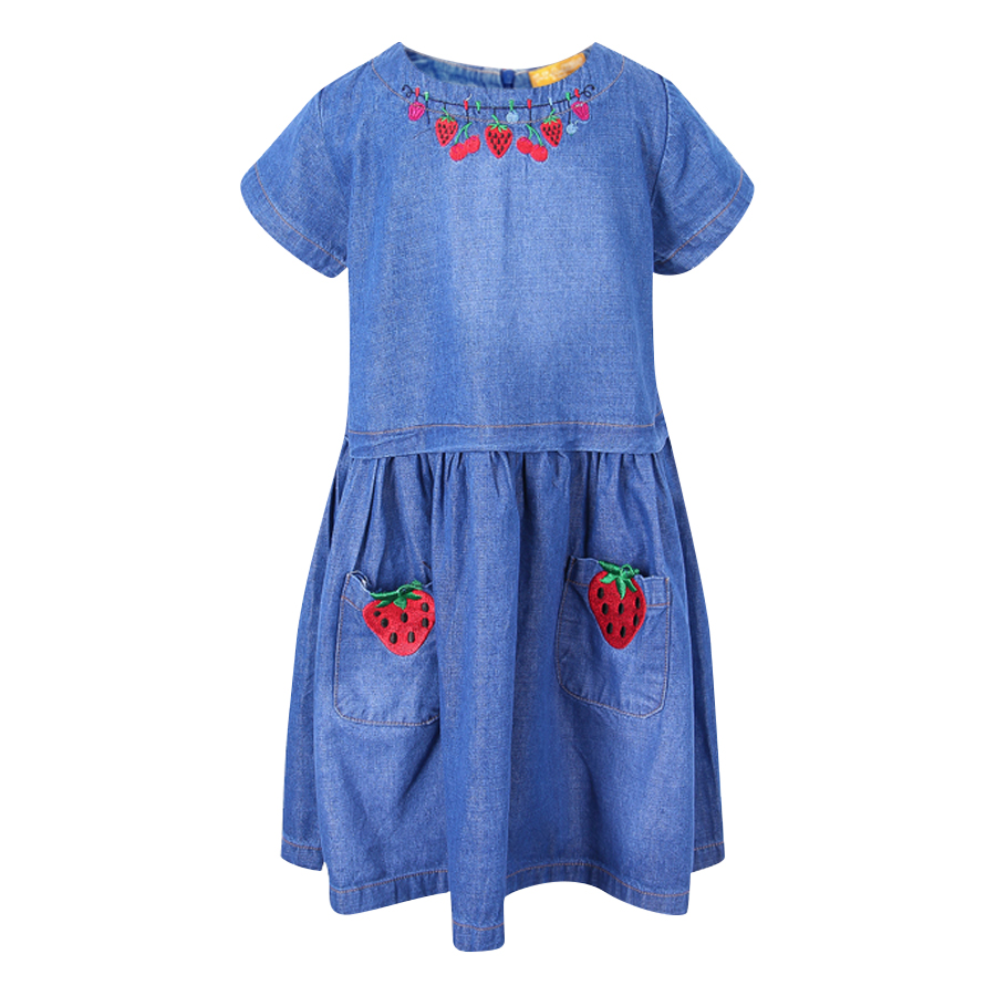 Đầm Jeans Tay Ngắn VTA KIDS BG70507