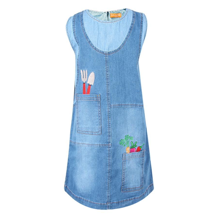 Đầm Jeans Sát Nách VTA KIDS BG70509