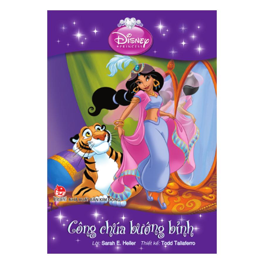 Tranh Truyện Công Chúa Disney - Công Chúa Bướng Bỉnh
