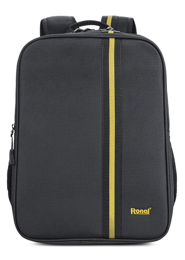 """Balo Laptop Ronal BL88 14"""" - Đen Sọc Vàng"""