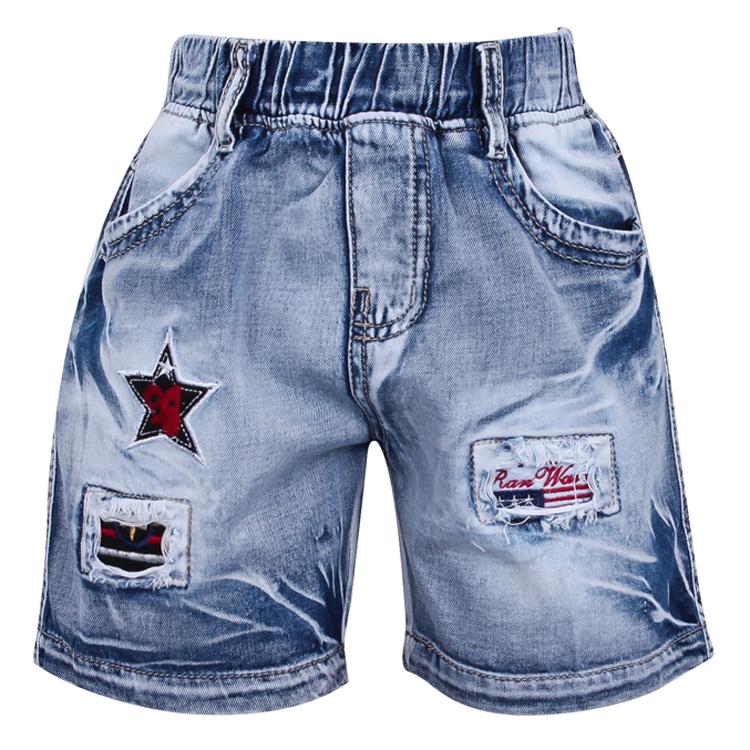 Quần Short Jeans Bé Trai VTA Kids BT61003
