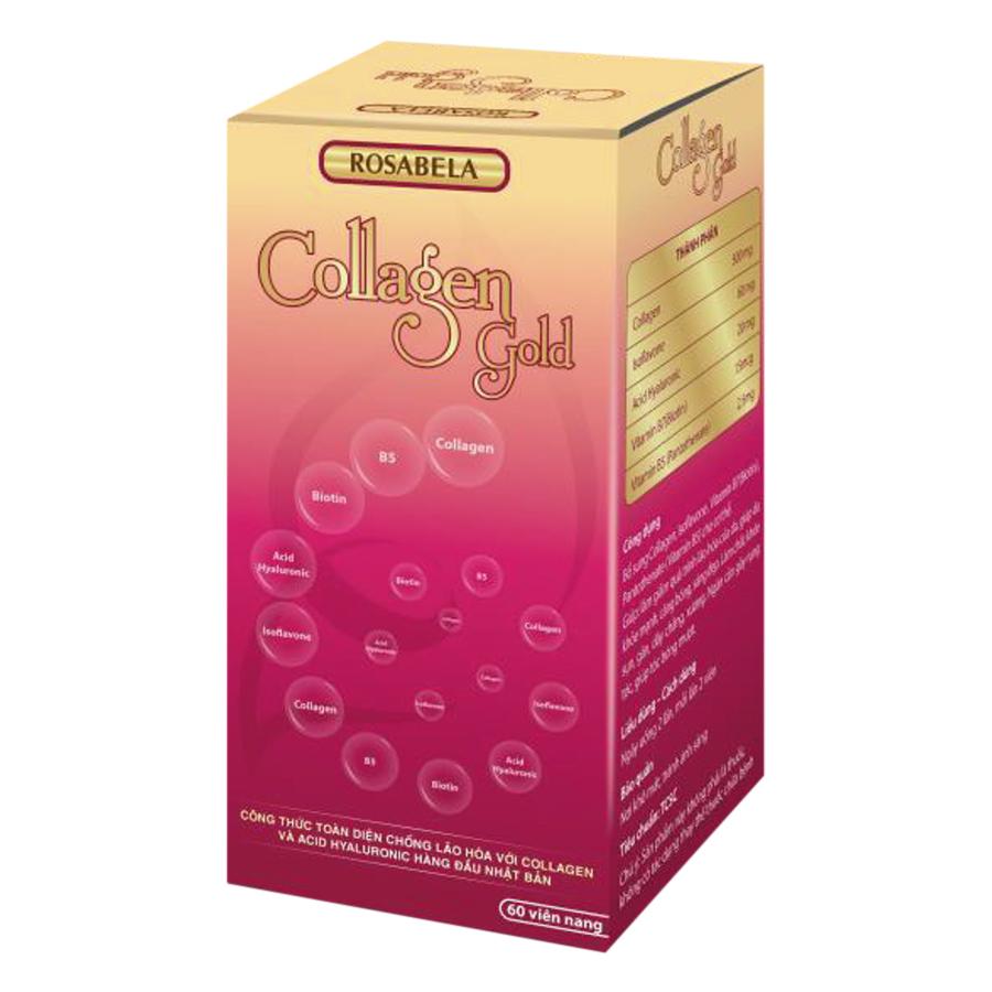 Thực Phẩm Chức Năng Rosabela Collagen Gold COLGOLD (Hộp 60 Viên) - 9410106 , 3568639376165 , 62_686557 , 422000 , Thuc-Pham-Chuc-Nang-Rosabela-Collagen-Gold-COLGOLD-Hop-60-Vien-62_686557 , tiki.vn , Thực Phẩm Chức Năng Rosabela Collagen Gold COLGOLD (Hộp 60 Viên)