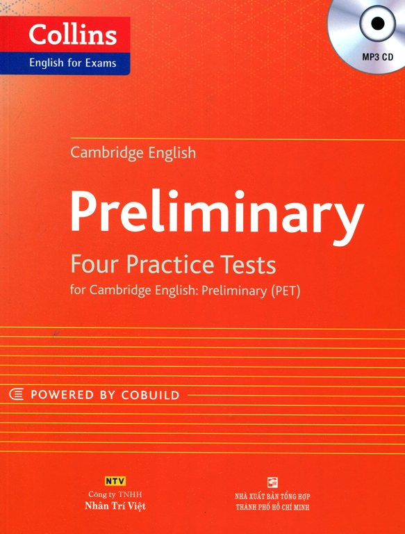 Collins Cambridge EnglishPreliminary - Kèm CD