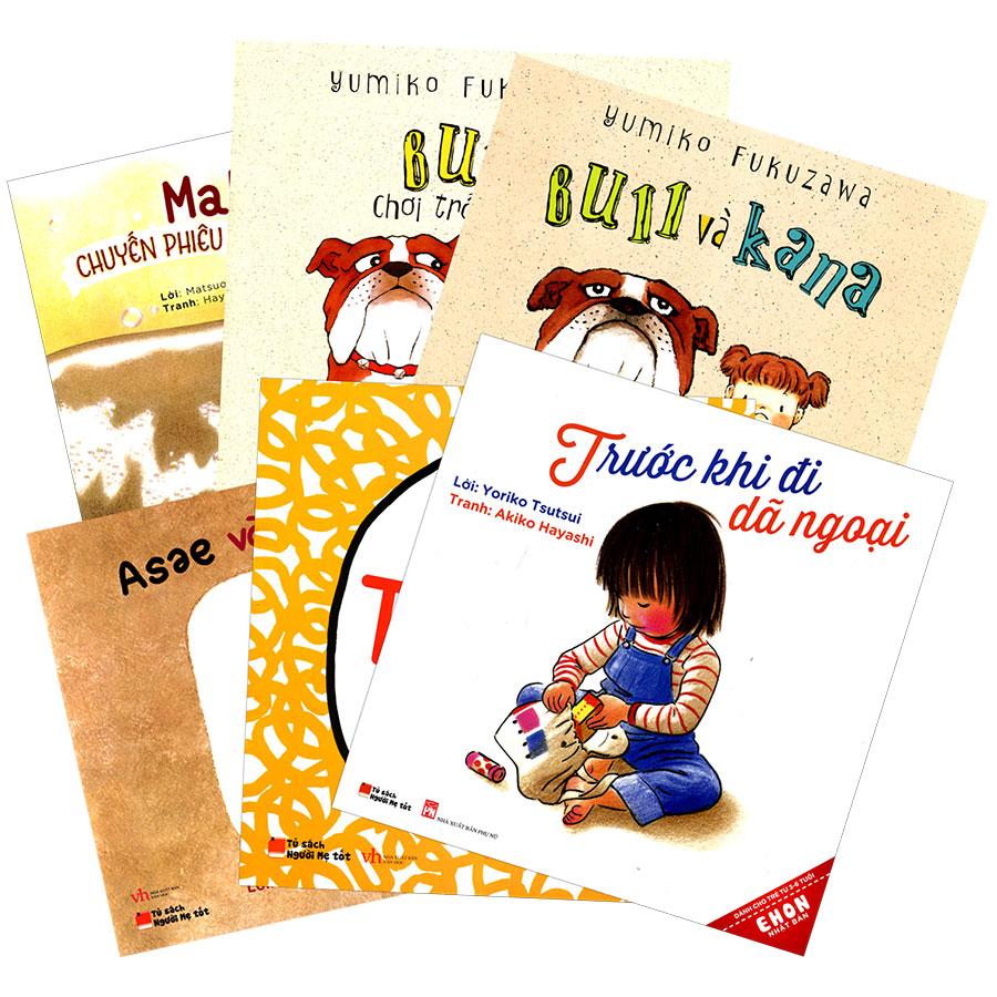 Combo Ehon Nhật Bản Dành Cho Trẻ Từ 3 - 6 Tuổi