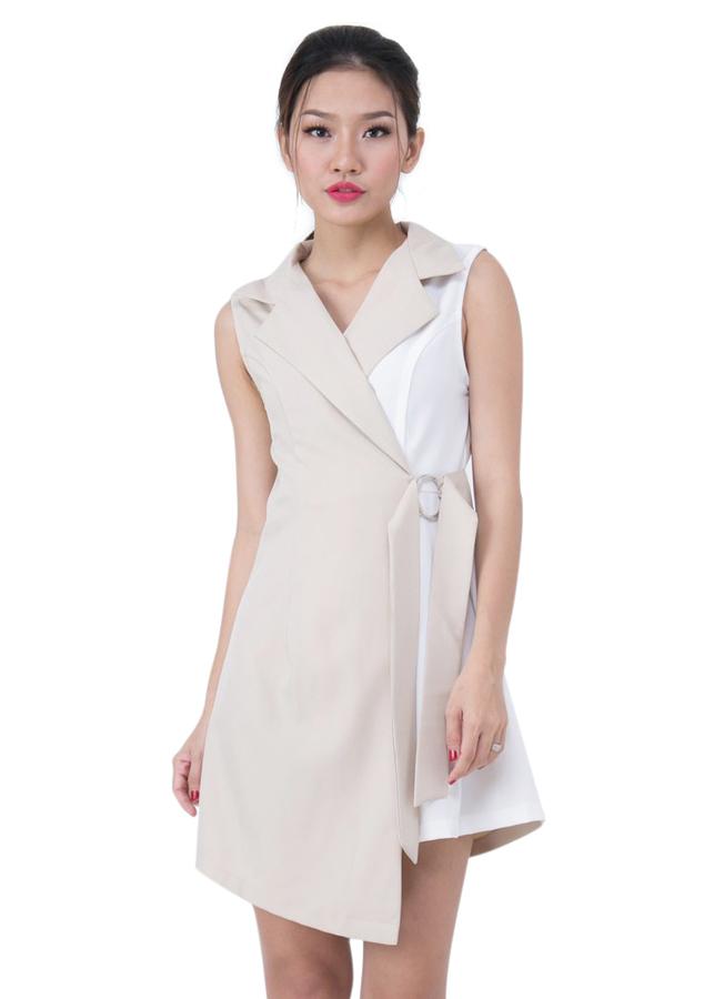 Đầm Gile Vest Phối Màu La Belle D211 - FreeSize