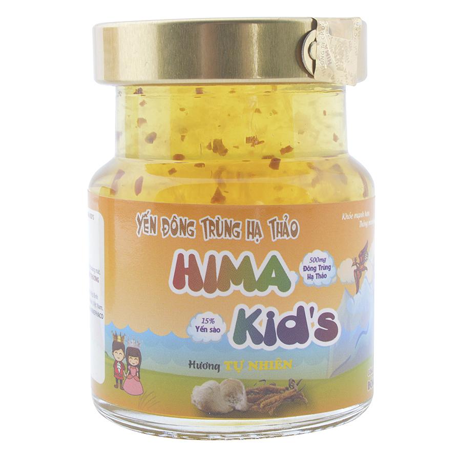 Nước Yến Đông Trùng Hạ Thảo HIMA Kids Hương Tự Nhiên (70ml)