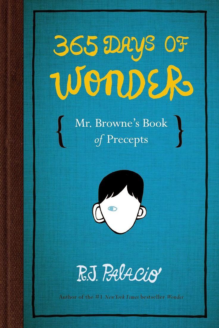 365 Days Of Wonder: Mr. Browne