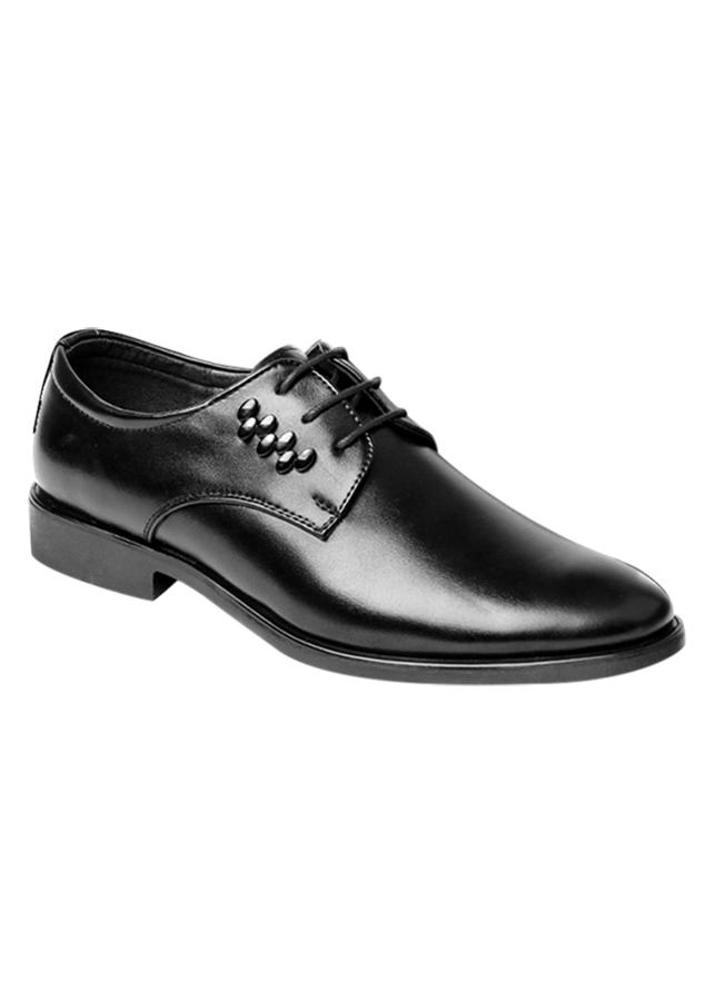 Giày Tây Nam Công Sở Cột Dây Zapas GT018BA - Đen