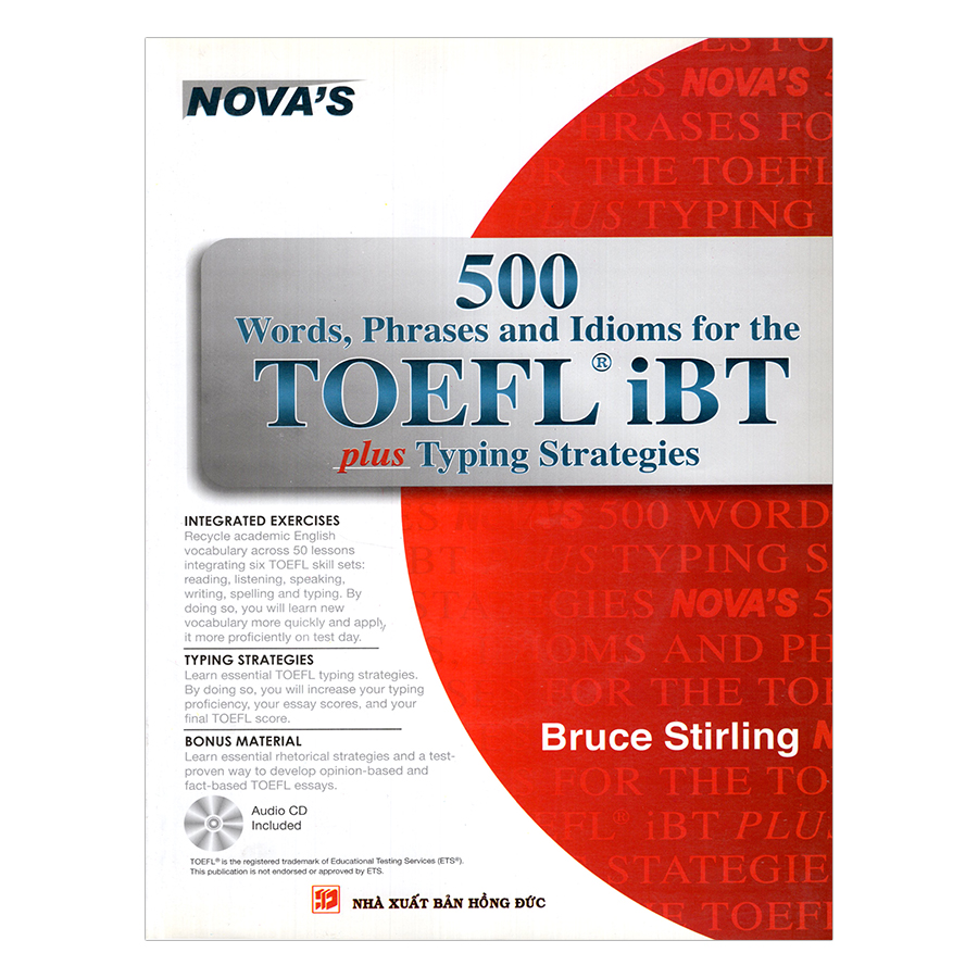 500 Words, Phrases, Idioms For The TOEFL iBT Plus Tying Strategies