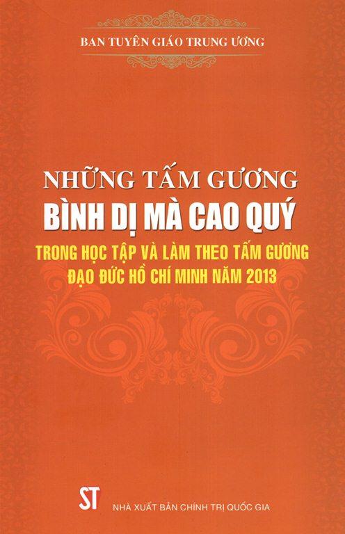 Những Tấm Gương Bình Dị Mà Cao Quý - 9786045710807 , 62_146889 , 117000 , tiki.vn