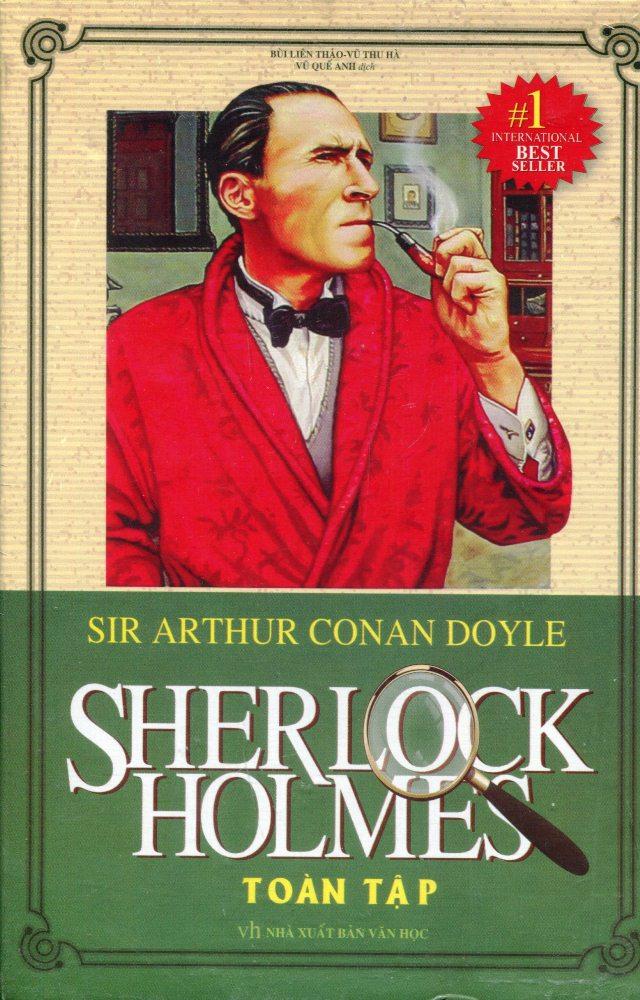 Combo Sherlock Holmes Toàn Tập (Hộp 3 Tập)