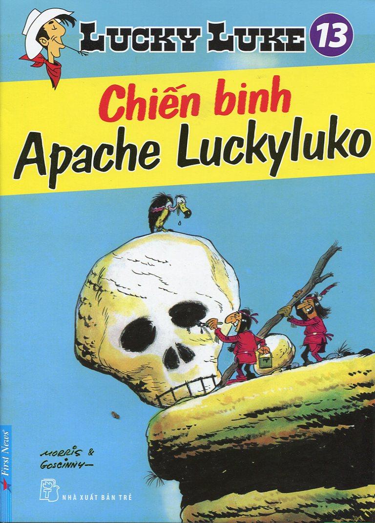 Lucky Luke (Tập 13): Chiến Binh Apache Luckyluko - 9379101 , 8935086821565 , 62_30712 , 24700 , Lucky-Luke-Tap-13-Chien-Binh-Apache-Luckyluko-62_30712 , tiki.vn , Lucky Luke (Tập 13): Chiến Binh Apache Luckyluko