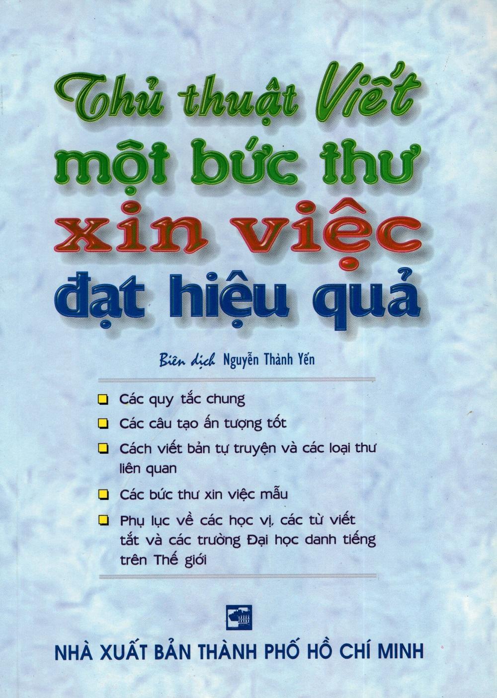 Thủ Thuật Viết Một Bức Thư Xin Việc Đạt Hiệu Quả - 3104880955485,62_256595,36000,tiki.vn,Thu-Thuat-Viet-Mot-Buc-Thu-Xin-Viec-Dat-Hieu-Qua-62_256595,Thủ Thuật Viết Một Bức Thư Xin Việc Đạt Hiệu Quả
