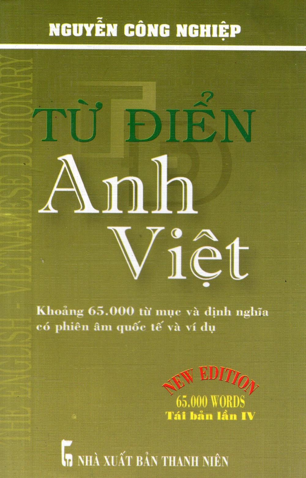 Từ Điển Anh - Việt (Khoảng 65.000 Từ) - Sách Bỏ Túi - 8935080934872,62_262024,62000,tiki.vn,Tu-Dien-Anh-Viet-Khoang-65.000-Tu-Sach-Bo-Tui-62_262024,Từ Điển Anh - Việt (Khoảng 65.000 Từ) - Sách Bỏ Túi