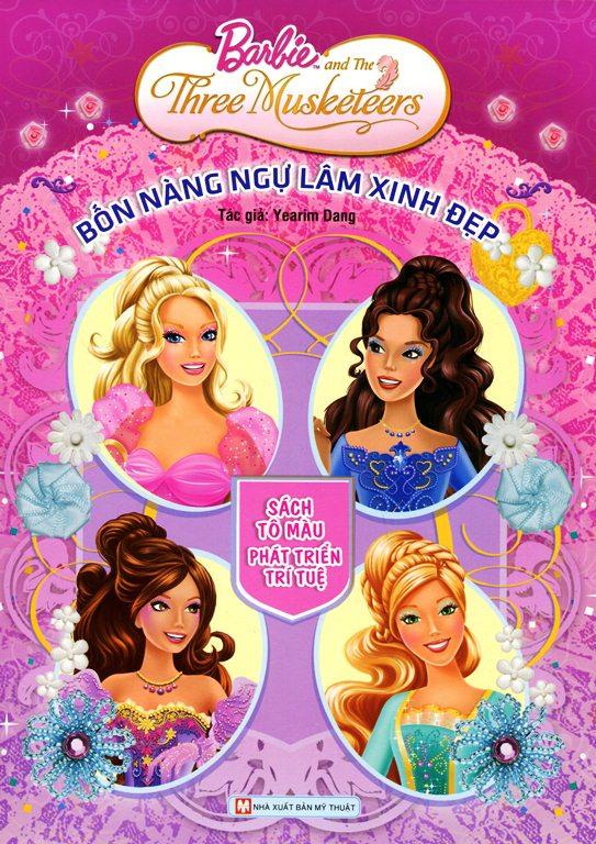 Barbie - Bốn Nàng Ngự Lâm Xinh Đẹp (Sách Tô Màu) - 9381822 , 8935210213204 , 62_147158 , 38000 , Barbie-Bon-Nang-Ngu-Lam-Xinh-Dep-Sach-To-Mau-62_147158 , tiki.vn , Barbie - Bốn Nàng Ngự Lâm Xinh Đẹp (Sách Tô Màu)